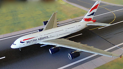 British Airways A380 Model Aircraft 1/400 Scale Gemini Jets