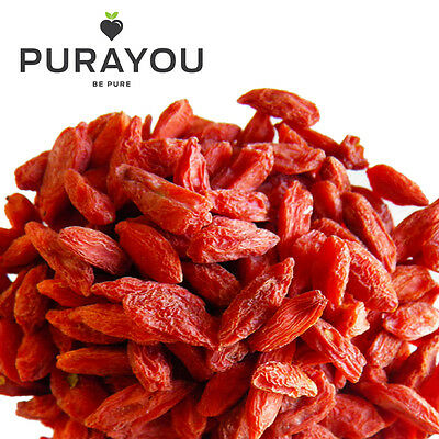 Organic Goji Berries - 125g, 250g, 500g, 2kg - Cheapest on eBay