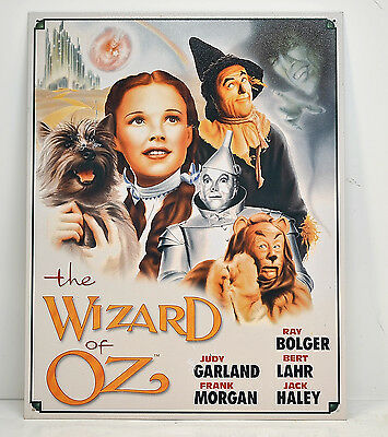 * Wizard of oz Illustrated Classic Movie Poster Metal Sign