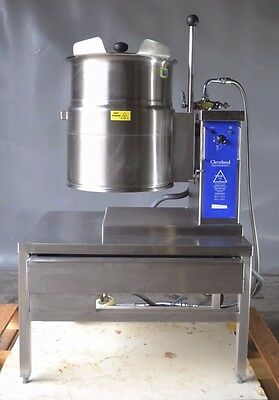 Used CLEVELAND KET-6T STAINLESS STEEL TILTING Steam Kettle , Free Shipping!