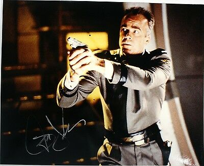 "JERRY DOYLE Autographed 8""X10"" Glossy Photo in BABYLON 5 as Michael Garibaldi"