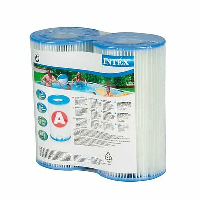 INTEX Type A Filter Cartridge for Pools Pump 2 Pieces Pack New *Free Shipping*