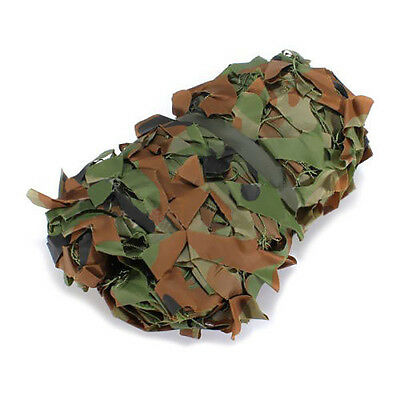 F3533 3m x 2m Woodland Camouflage Camo Net for hunting Camping Military Photogra