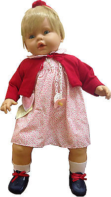 Andrea the Life-like Vinyl 63cm Nurturing Doll with Sound- By Nines D'onil
