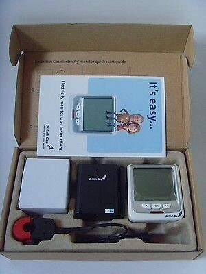 BRITISH GAS Current Cost Energy Electricity Electric Monitor - BOXED