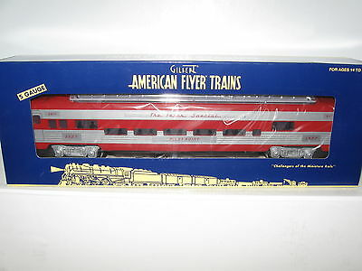 S Gauge American Flyer #6-49956 KATY Texas Special Full Length Dome Car - New