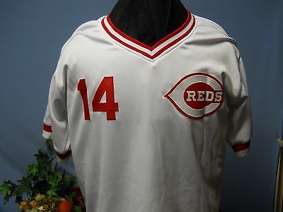 Pete Rose Hand Signed Jsa Certified Reds Jersey