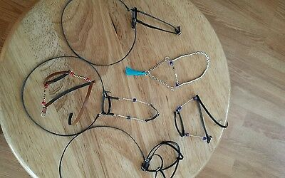 Breyer Custom bead Arabian tack lot halters bridles
