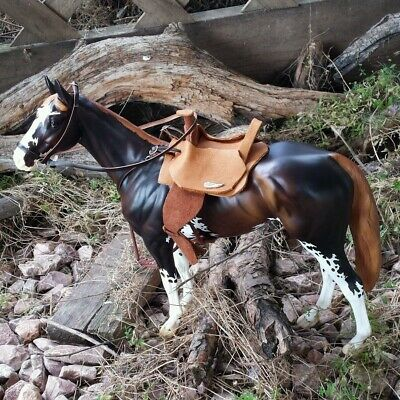 Breyer Custom saddle bridle breast collar set classic or traditional no horse