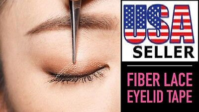 AAA: Invisible Fiber Lace Double Eyelid 96 Pieces USSELLER FREE SHIPPING