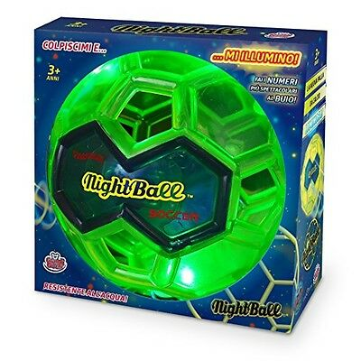 Grandi Giochi GG00230 - Night Ball, Verde Lime - NUOVO