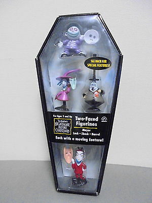 Applause The Nightmare Before Christmas Two-Faced Figurines  Lock Shock Figure