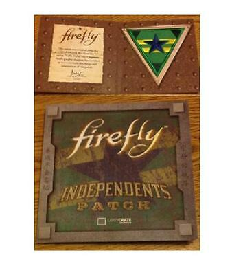 Revolution FIREFLY INDEPENDETNS Patch QMX EXCLUSIVE LOOTCRATE 2016