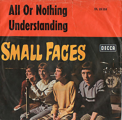 """Small Faces, The - All Or Nothing - Vinyl-Single 7"""""""