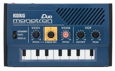 KORG analog synthesizer monotron DUO Monotoron duo