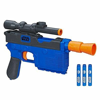 Star Wars Episode VII Nerf Han Solo Blaster Great Gift for your Childs NEW