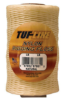 Western Filament TUF-LINE Nylon Rigging Floss-Pick Size, Color & Line Class