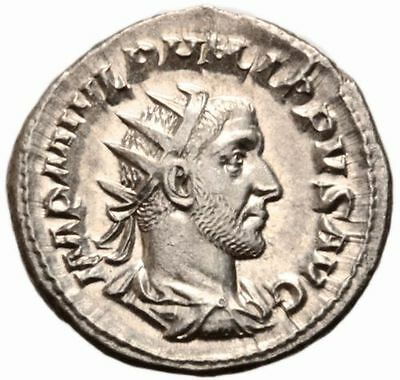 Roman Antoninianus of Philip I, RIC 26b (247 AD), Sharp Portrait!