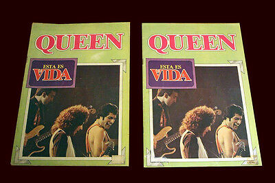 QUEEN - FREDDIE MERCURY - Esta Es Su Vida Magazine Spain