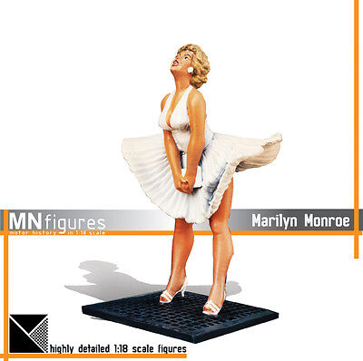 MNfigures MARYLIN MONROE Diva Figure Miniature 1:18 Scale for Mercedes Diecast
