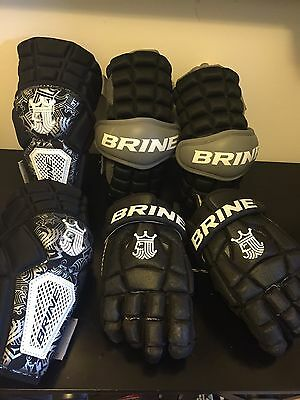 Brine Lacrosse LAX Gloves, Arm and Elbow Pads