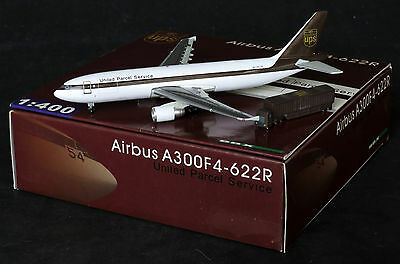 UPS A300-600F Reg: N126UP  Jet-X 1:400 JX models With Stand