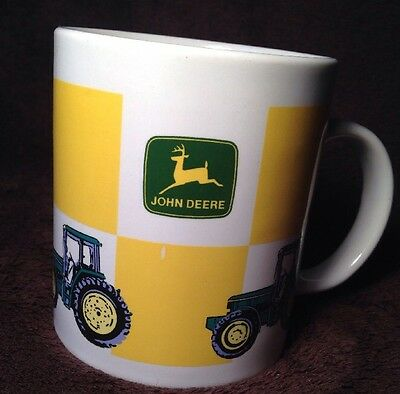 John Deere Coffee Mug Cup Collectible Tractor Licensed Product Gibson