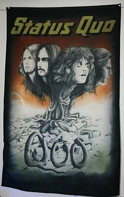 Status Quo Back Patch Off The Quo Lp Cover