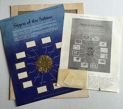 Signs of the Zodiac Republic Maldives Stamp Collection Unmounted World of Stamps