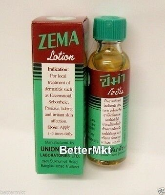 ZEMA Lotion For Dermatitis Eczema Psoriasis Seborrheic Itching Plaque Treatment