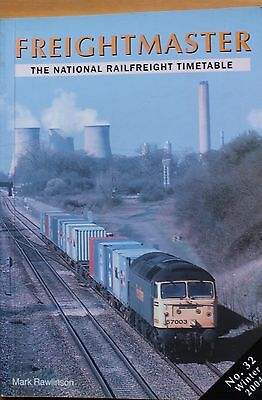Freightmaster - National Railfreight Timetable book - NO 32 WINTER 2004