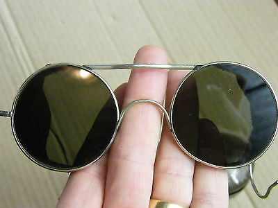 "WW2 British RAF Flying Sunglasses ""Spectacles Anti Glare"" type E-2"