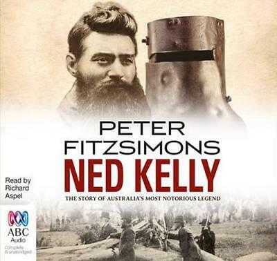 NEW Ned Kelly By Peter FitzSimons Audio CD Free Shipping