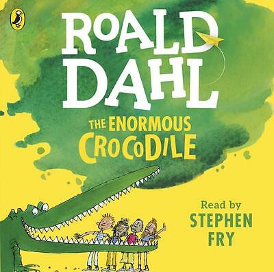 NEW The Enormous Crocodile By Roald Dahl Audio CD Free Shipping