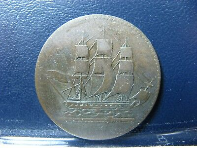 PE-10-2 Ships Colonies & Commerce token PEI SCC-2 Breton 997