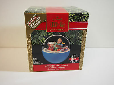 Hallmark Keepsake Magic Light and Motion Ornament Children's Express 1990