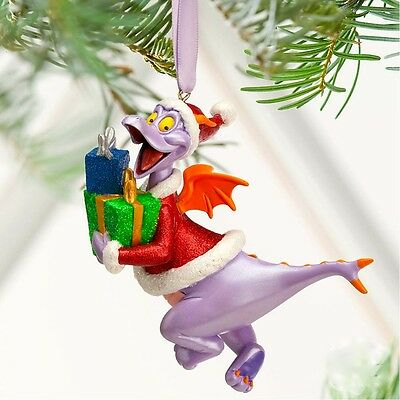 Disney Figment Christmas Ornament New with Tags