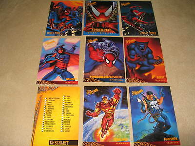 1997 Spider-Man '97 Full 50 Cards Set Parallel to 1995