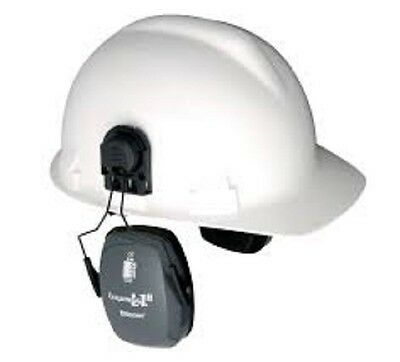 Bilsom L1 HardHat Mounted Ear Muffs Attached Helmet Hearing Protection Earmuffs