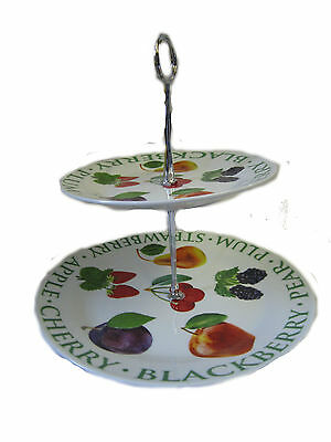 Two Tier Cake Stand Fruit Design