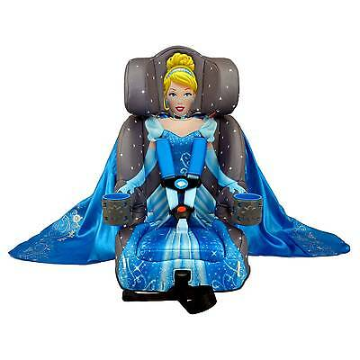 KidsEmbrace Combination Booster Car Seat - Disney Cinderella Platinum
