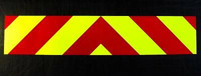 Magnetic Rear Chevrons Reflective + Fluorescent 1500mm