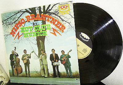 LP NIPSO BRANTNER & THE HOT CLUB MUNICH - SAME s/t * KARUSSELL 70's GERMANY rare
