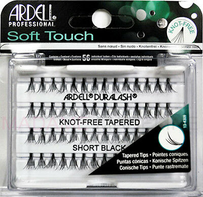 Ardell individual lashes Soft Touch. Ardell pestañas individuales sin nudo.Short