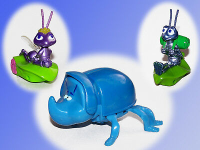 Flik Atta Dim Disney, A Bugs Life, The large Crawling Mc Donalds Happy Meal 1999