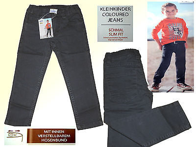 Modern Grey Toddler Jeans Children's Trousers Young Jeans Narrow Gr.74-98 New