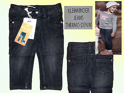 Girl Toddler Jeans Trousers Thermal Denim Baby Jeans Children Jeans Size 74 -98
