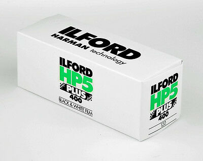 Ilford HP5+ Plus 400 ISO Black & White 120 Camera Film - FRESH Stock