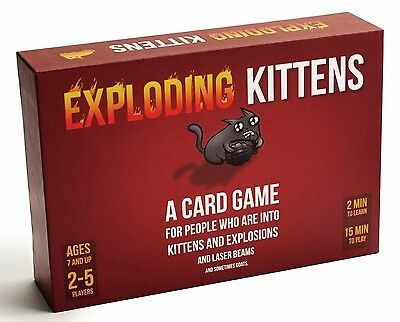 EXPLODING KITTENS CARD GAME - ORIGINAL VERSION - AU Stock