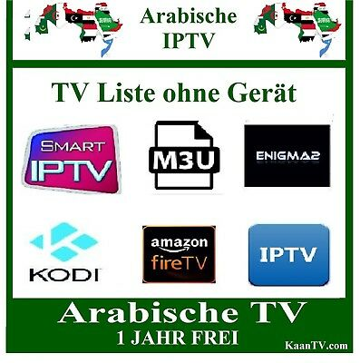 Smart Iptv Arab -  Arabische Tv Sender 2 Jahre  Arabic Iptv M3U  Smart Ip Tv